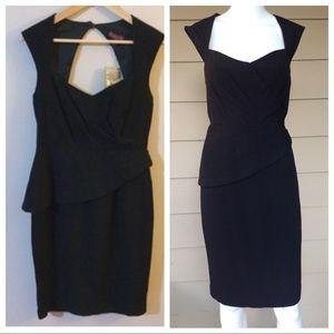 Anthropologie Maple Unequivocal Black Dress 6